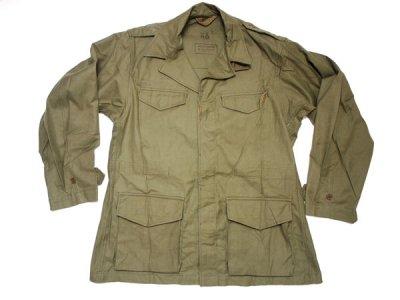 50's Vintage 【FRENCH ARMY】 フランス軍 ビンテージ M-47 ミリタリージャケット ◆Size:46(L-R相当)【DEADSTOCK】