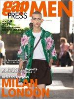 2021 S/S gap PRESS MEN vol.60  MILAN/LONDON