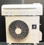【京阪神限定販売・標準工事付】 2012年製 シャープルームエアコン6畳用 AC-222FD(4163)