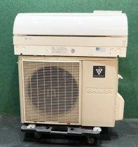【京阪神限定販売・標準工事付】 2011年製 シャープルームエアコン10畳用 AY-A28VX-W(6066)