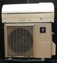 【京阪神限定販売・標準工事付】 2011年製 シャープルームエアコン6畳用 AY-A22VX-W(3408)