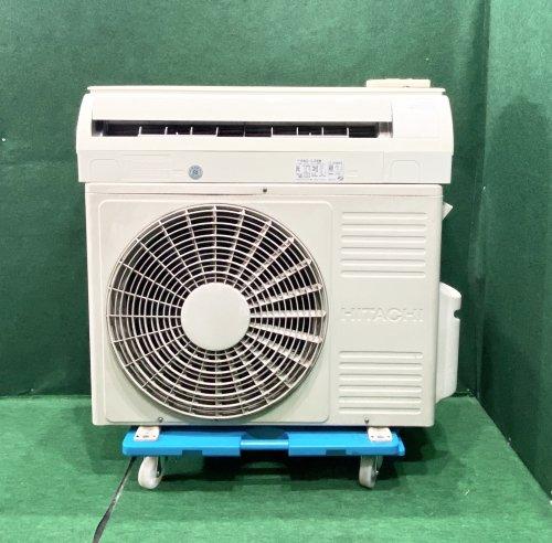 【京阪神限定販売・標準工事付】2009年製 日立 10畳用 RAS-L28W(5866)標準タイプ