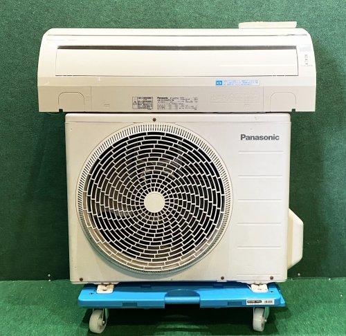 【京阪神限定販売・標準工事付】2011年製 パナソニックルームエアコン 6畳用 CS-EX221C-W(4415)