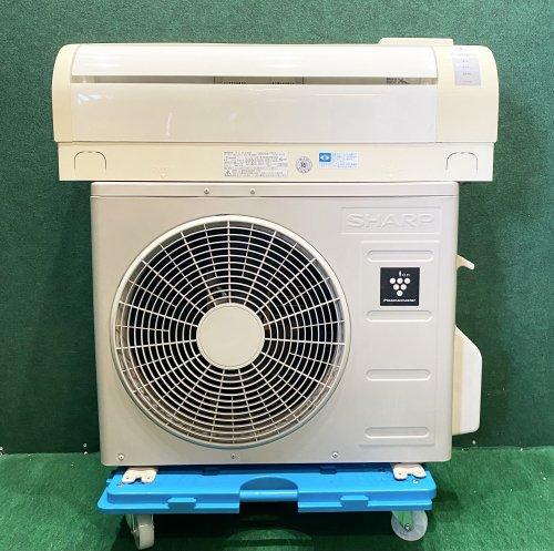 【京阪神限定販売・標準工事付】2010年製 シャープルームエアコン 6畳用 AY-Z22DE7(0164)