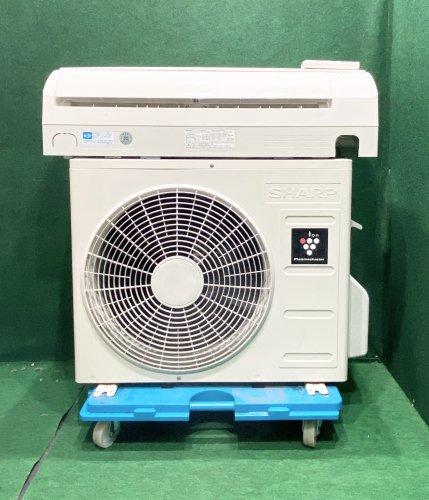 【京阪神限定販売・標準工事付】2012年製 シャープ プラズマクラスター 6畳用 AY-B22SD-W(0088)標準タイプ