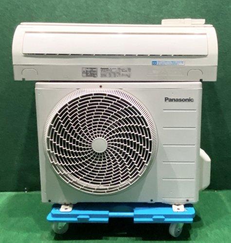 【京阪神限定販売・標準工事付】2011年製 パナソニックルームエアコン 6畳用 CS-V221C-W(6731)