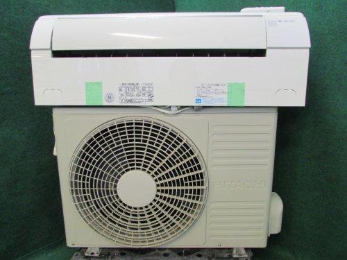 2012年製 日立ルームエアコン 6畳用 RAS-2200BJ(W)(1637)