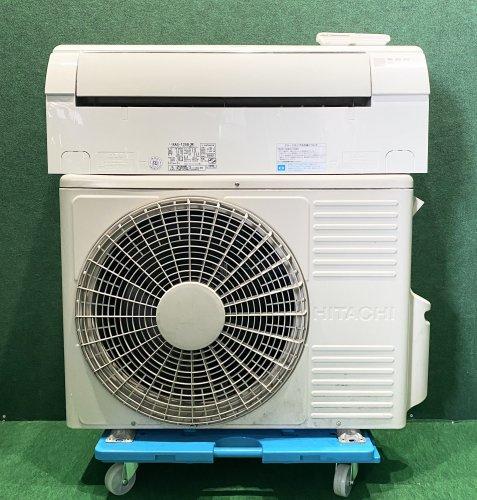 2012年製 日立ルームエアコン 8畳用 RAS-T25B(W)(0651)