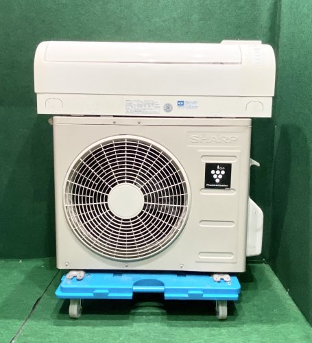 【京阪神限定販売・標準工事付】2011年製 シャープ プラズマクラスター 6畳用 AY-A22SD-W(2054)標準タイプ