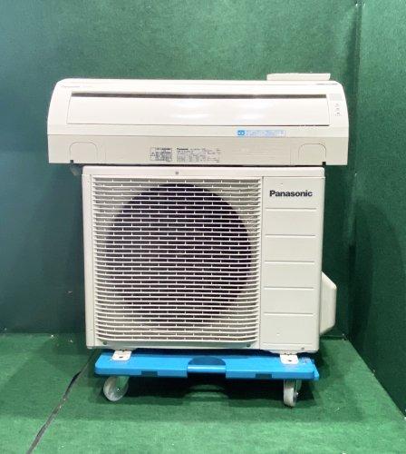 【京阪神限定販売・標準工事付】2011年製 パナソニック 6畳用 CS-EX220C-W(5025)お掃除機能タイプ