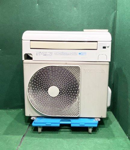 【京阪神限定販売・標準工事付】2011年製 東芝 6畳用 RAS-221JDR(W)(0598)お掃除機能タイプ