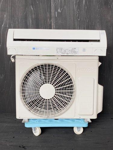 【京阪神限定販売・標準工事付き】 2013年製 日立 白くまくん 6畳用 RAS-R22B(W)(5304) 標準タイプ