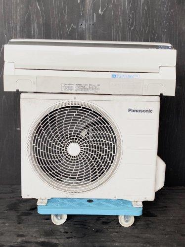 【京阪神限定販売・標準工事付き】2013年製 パナソニック 10畳用 CS-EX283C-W(1435)お掃除機能タイプ