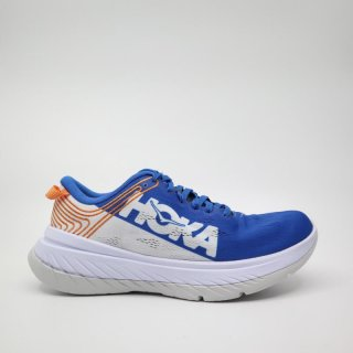 <img class='new_mark_img1' src='https://img.shop-pro.jp/img/new/icons34.gif' style='border:none;display:inline;margin:0px;padding:0px;width:auto;' />HOKA ONE ONE_CARBON X(M'sブルー)