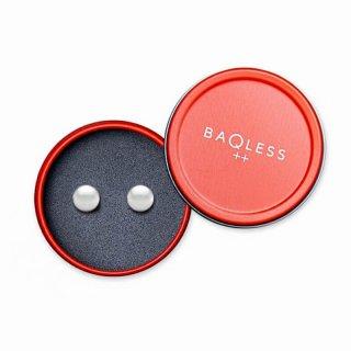 BAQLESS_Charisma Button White