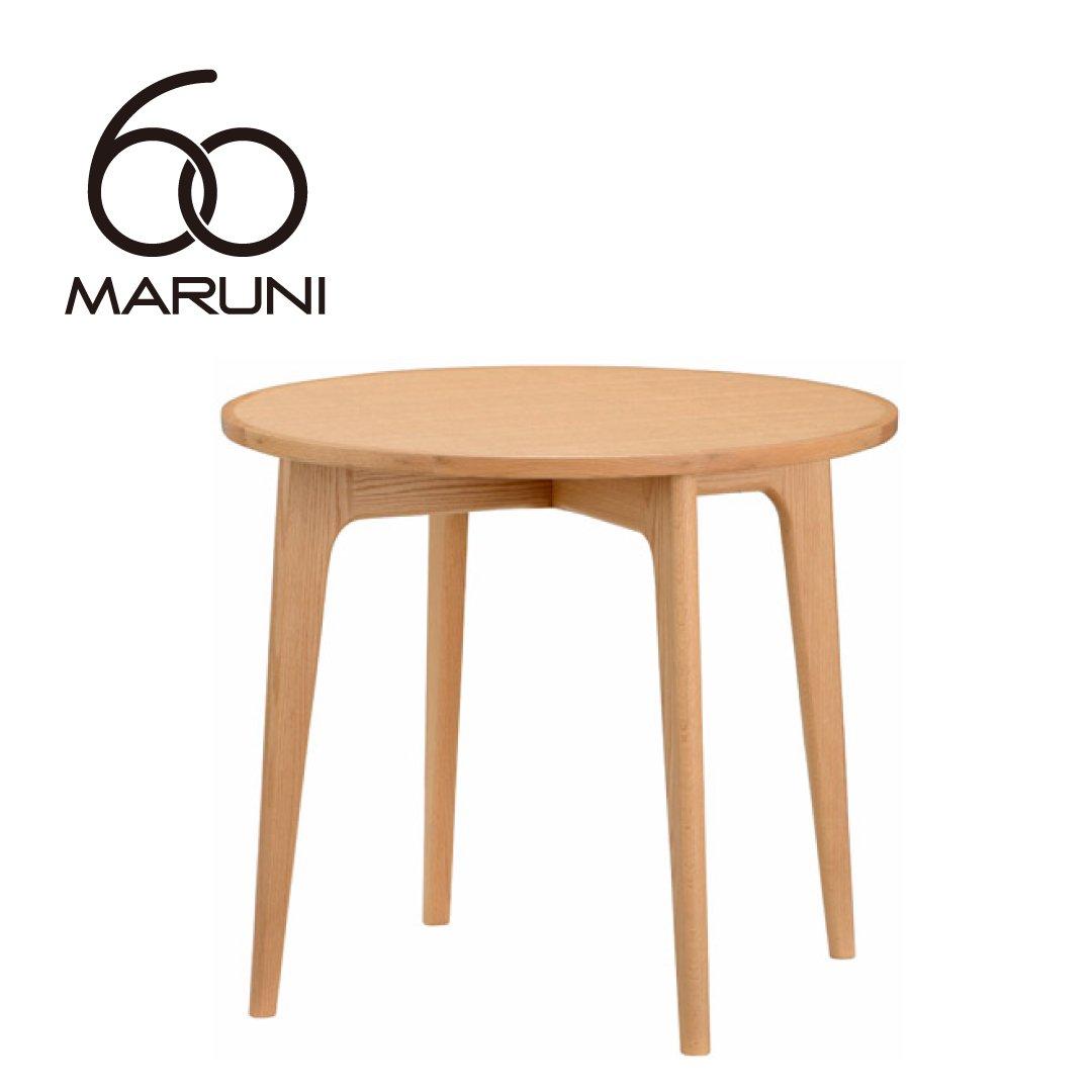 マルニ60+ オークフレーム ラウンドテーブル80
