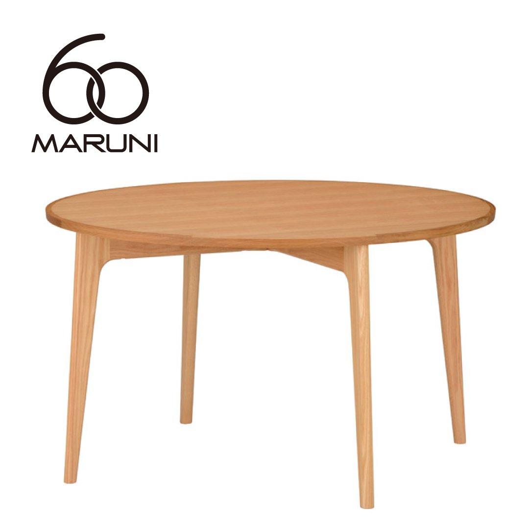 マルニ60+ オークフレーム ラウンドテーブル120