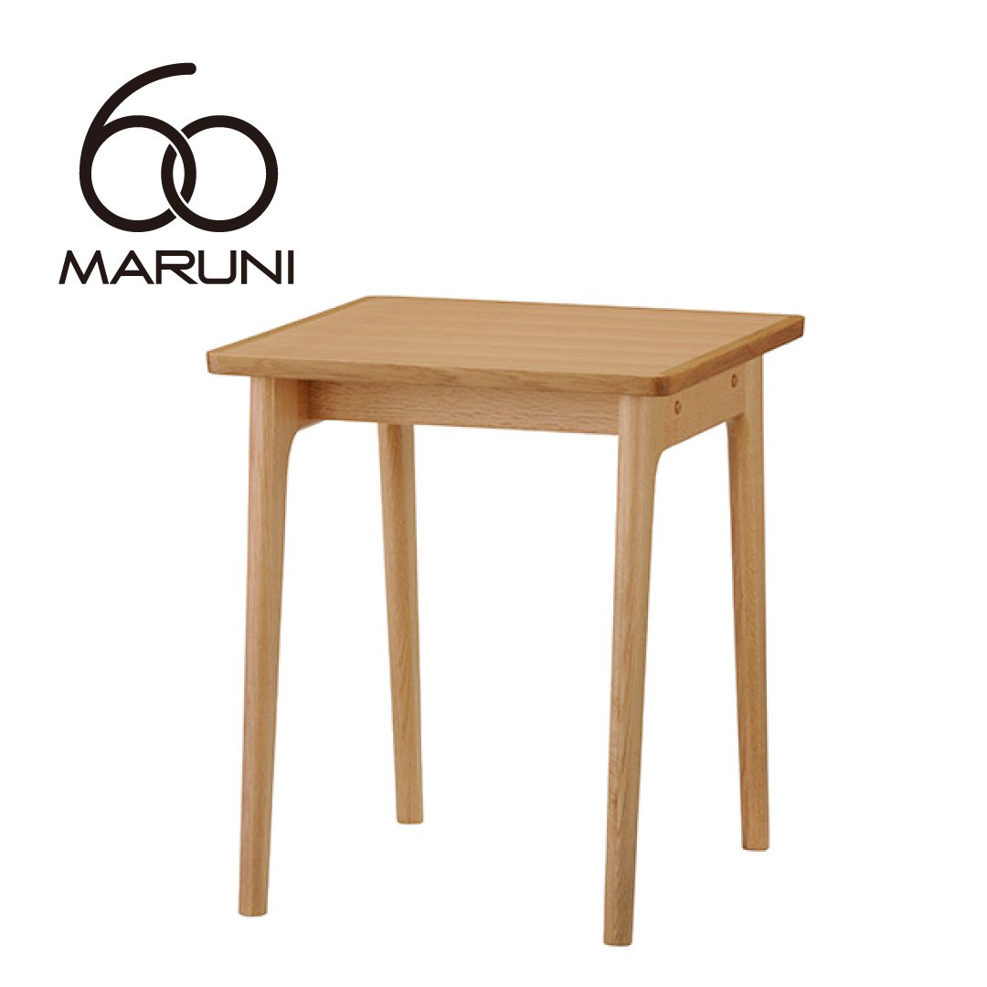 マルニ60+ オークフレーム スクエアテーブル60