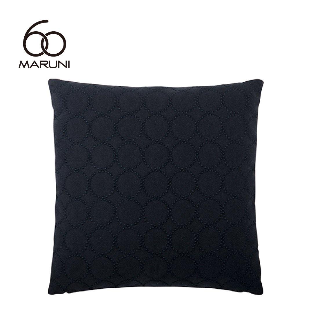 マルニ60+ フェザークッション (ミナペルホネンdop-tambourine/ブラック)