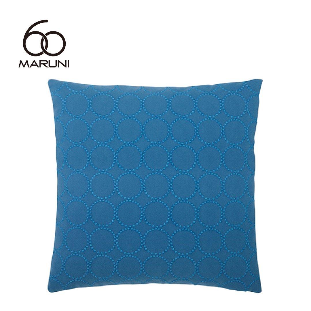 マルニ60+ フェザークッション (ミナペルホネンdop-tambourine/ブルー)