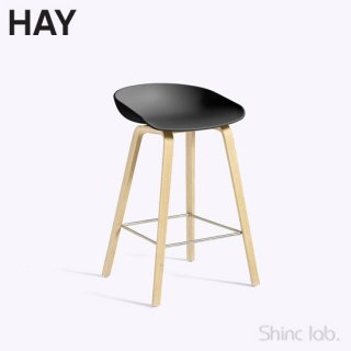 HAY AAS 32 ABOUT A STOOL (LOW) Black