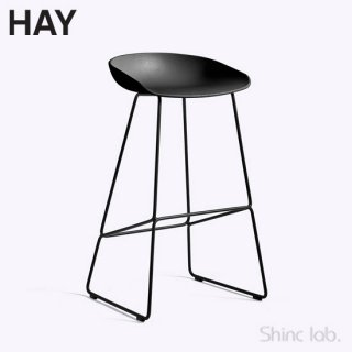 HAY AAS 38 ABOUT A STOOL (HIGH) Black