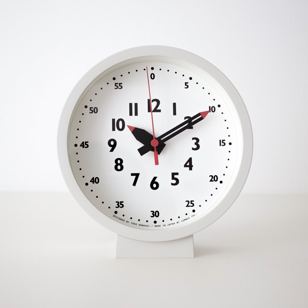 Lemnos fun pun clock for table (YD18-04)
