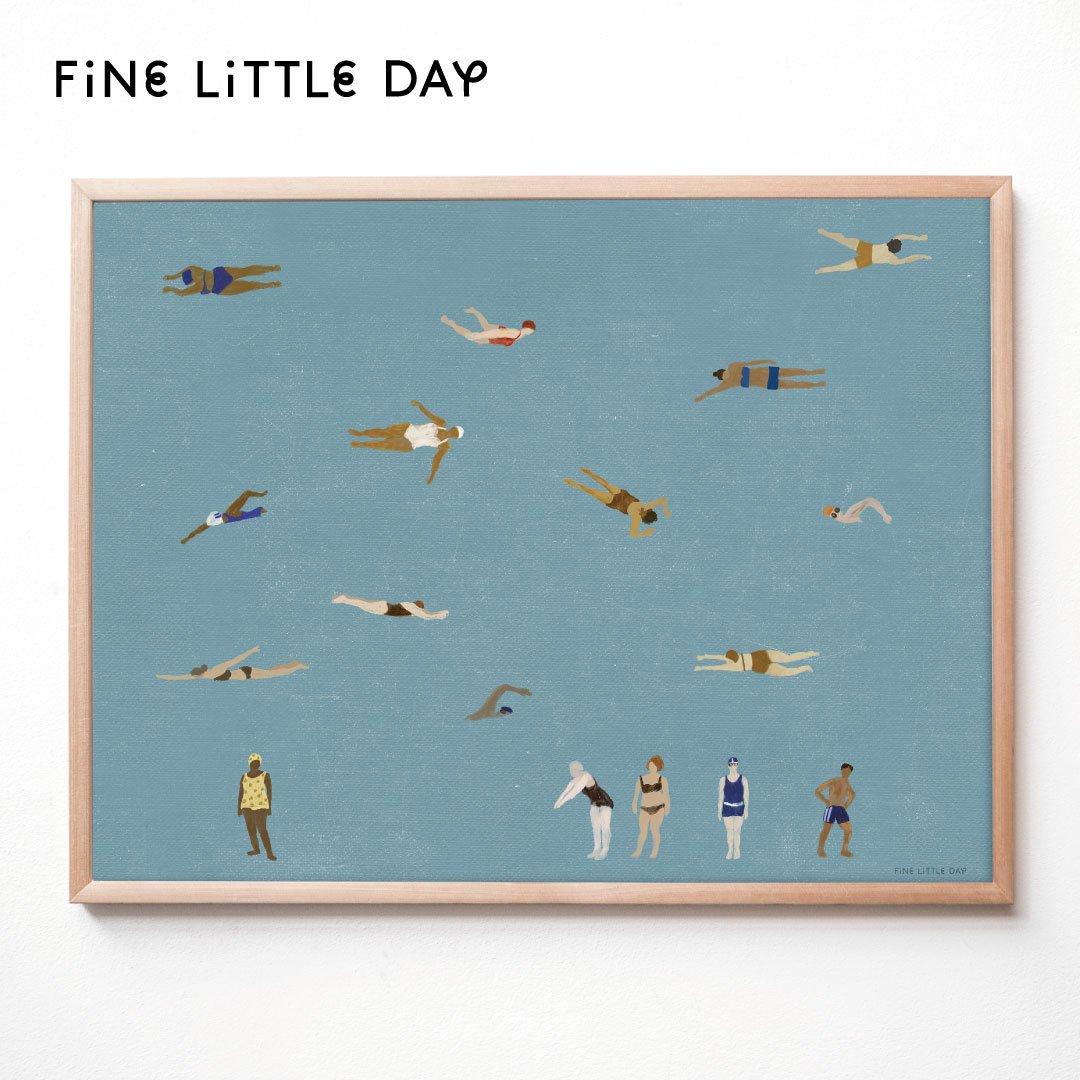 Fine Little Day ポスター SWIMMERS  70×50cm