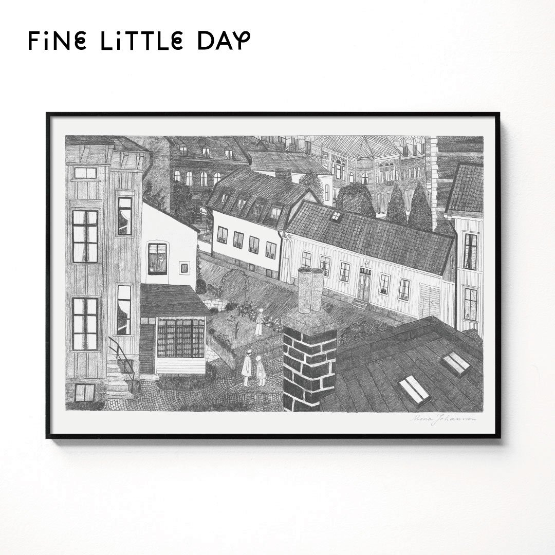 Fine Little Day ポスター HUS  70×50cm