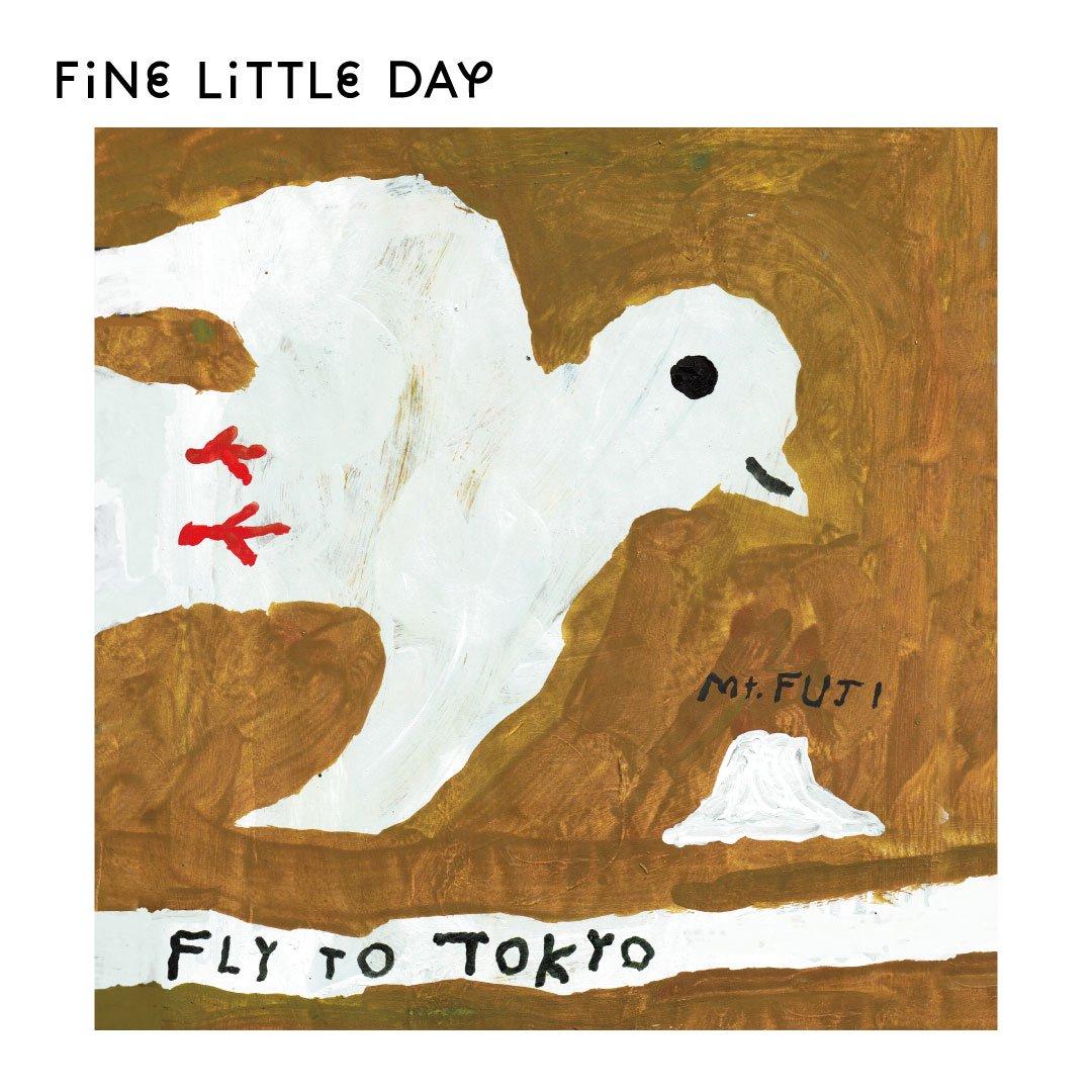 Fine Little Day ポスター FLY TO TOKYO トリ 50×50cm