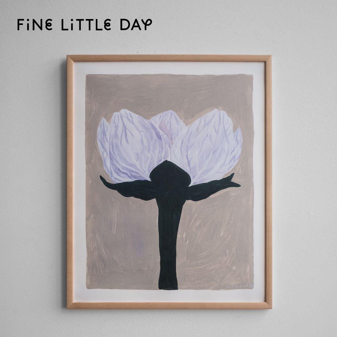 Fine Little Day ポスター SOFIA LIND SPECIAL ARTIST EDITION, SLATTERBLOMMA 40×50cm