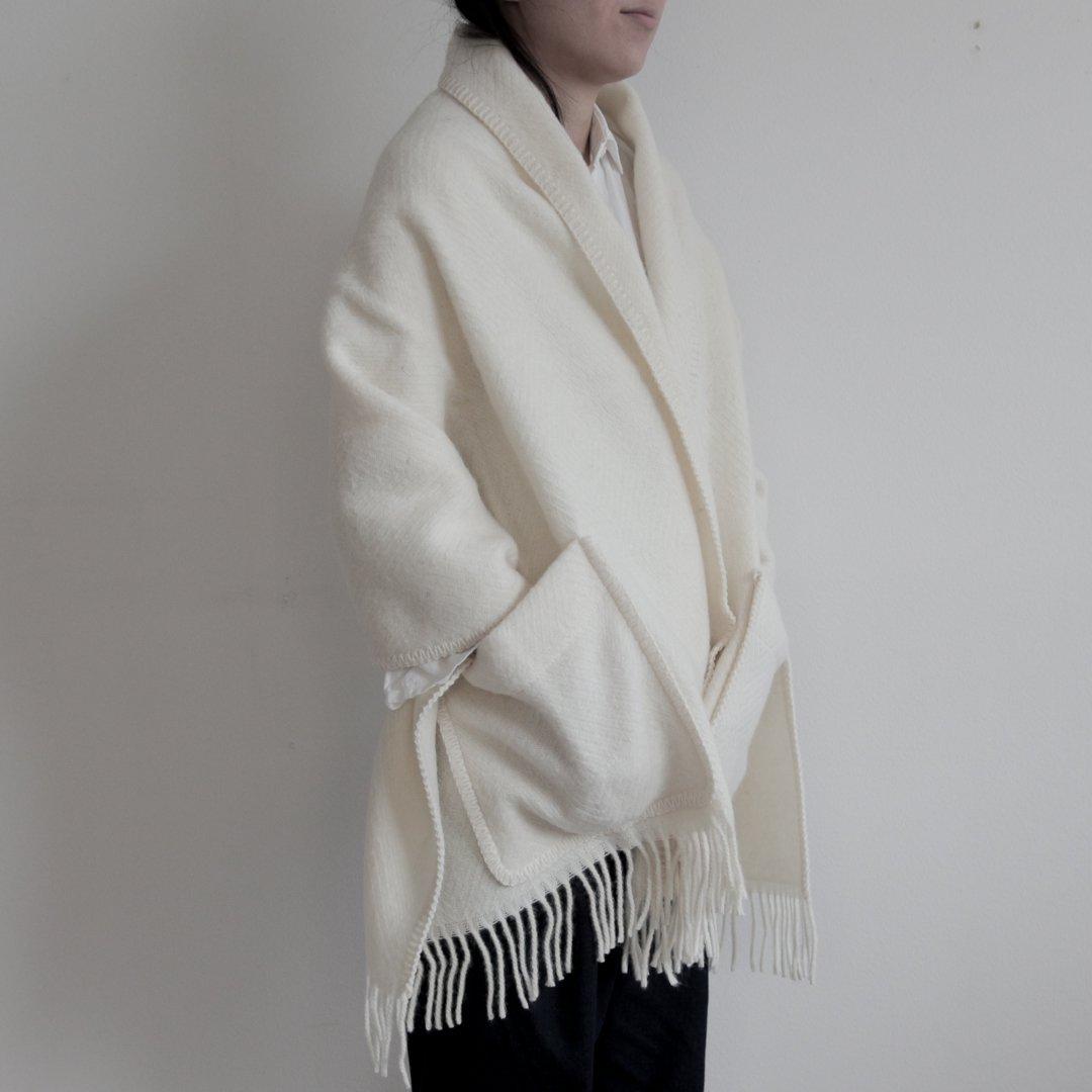 Lapuan Kankurit(ラプアンカンクリ) ポケットショール MARIA   ホワイト