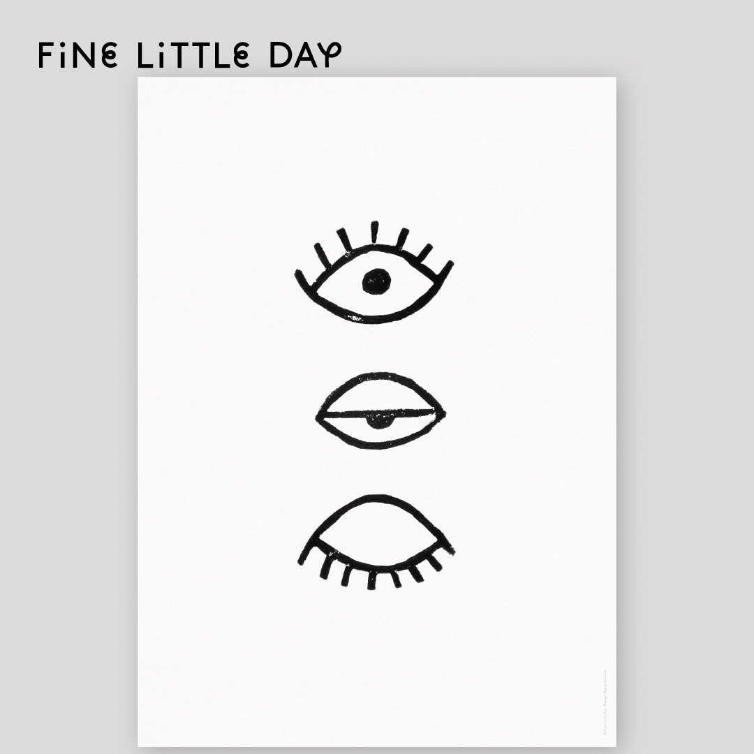 Fine Little Day ポスター EYE,EYE 50×70cm