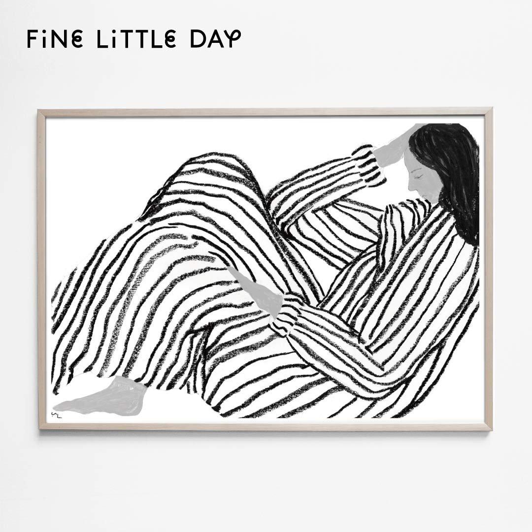 Fine Little Day ポスター BORED 70×50cm