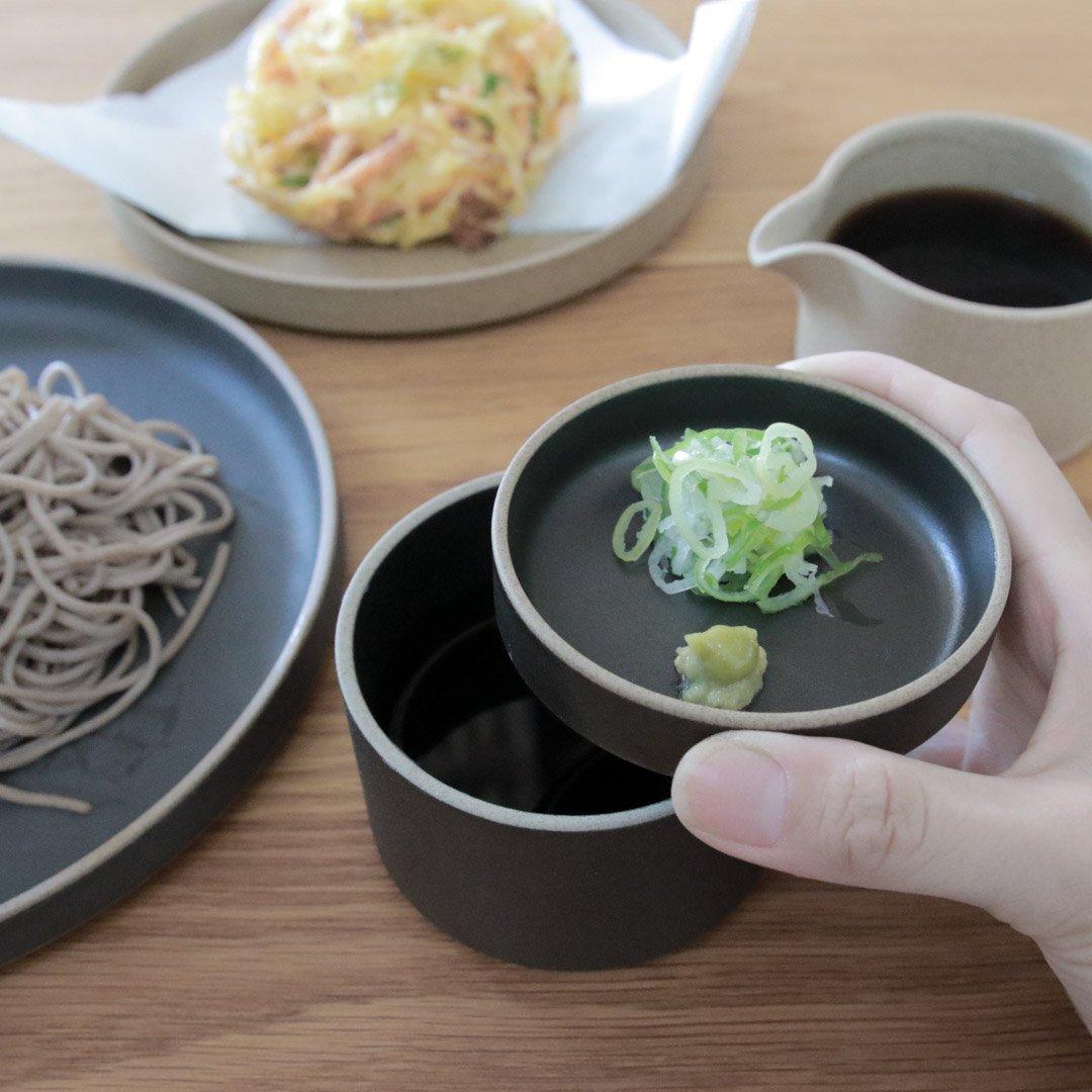 HASAMI PORCELAIN プレート Φ85×21 ブラック HPB001