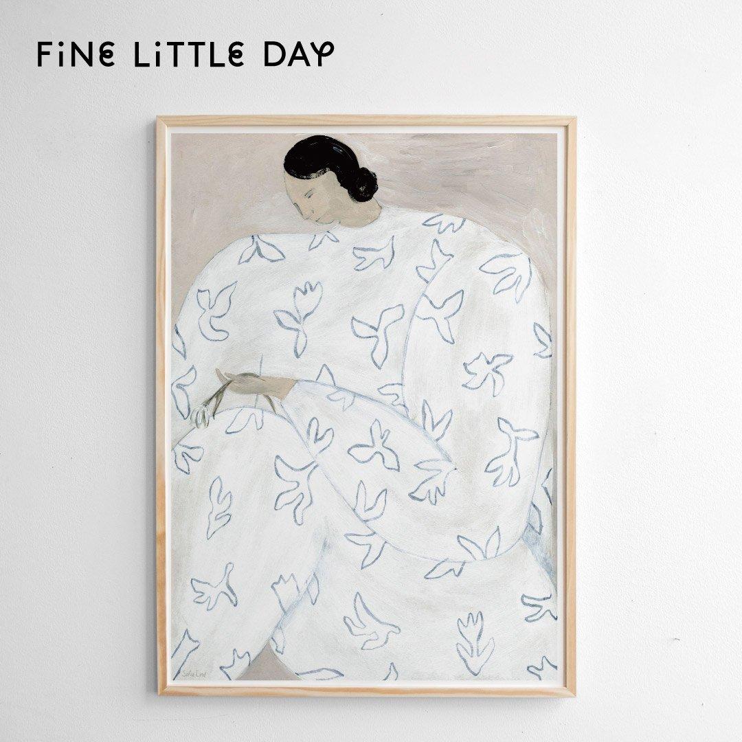 Fine Little Day ポスター WHITE FLOWER 50×70cm