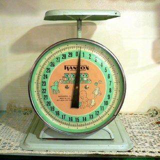 アメリカ1950年代HANSON製ナーサリースケール 【 アンティーク 1704-12 】
