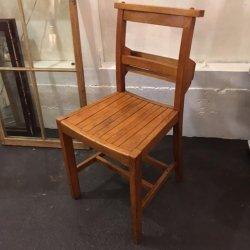 イギリス1930〜'40年代チャーチ・チェア(教会の椅子)【 アンティーク1705-02 】