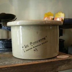 フランス1930年〜'40年代 陶製大きなペースト・ボトル【 アンティーク1710-09 】