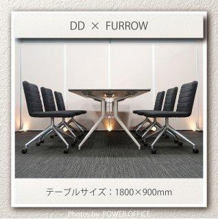 【テーブル+チェア�脚セット】【中古】<br>■イトーキ/DD + SOGOKAGU/ファーロ