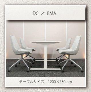 【テーブル+チェア�脚セット】【中古】<br>■イトーキ/DC + SOGOKAGU/EMA(エマ)