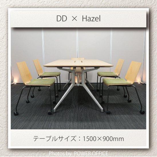 【テーブル+チェア�脚セット】【中古】 ■イトーキ/DD + ウチダ/ヘーゼル