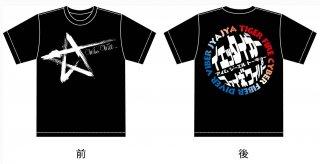 愛夢GLTOKYO ミックスTシャツ 黒
