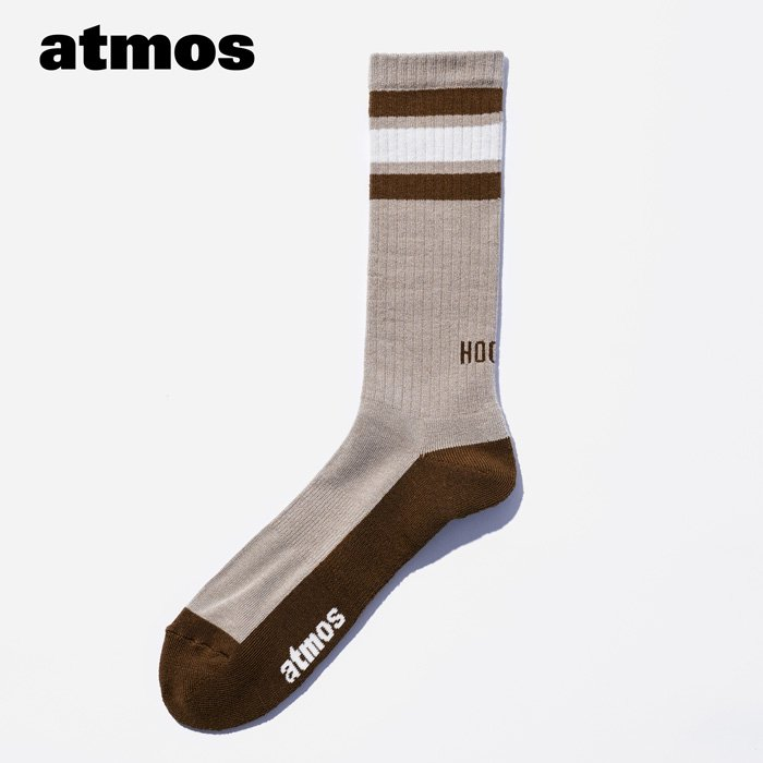 atmos×CHICSTOCKS  HOOPS リブソックス