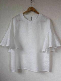 フレアー半袖ブラウス型紙