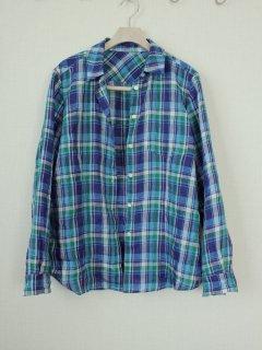 フェミニンシャツ型紙