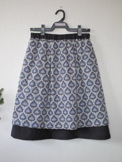 リバーシブルスカート型紙