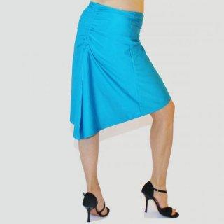 テイルギャザードスカート<br>ブライトブルー