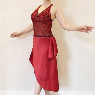 オリジナルドレス フレアータイプ RED