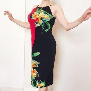 【Sissy y daisy】ドレス リゾートフラワーRD